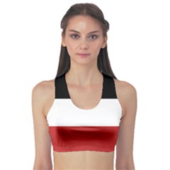 Flag Of Upper Volta Sports Bra