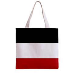 Flag Of Upper Volta Zipper Grocery Tote Bag by abbeyz71