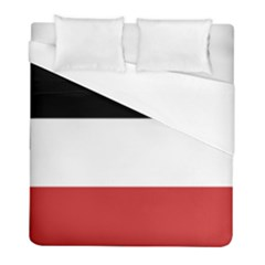 Flag Of Upper Volta Duvet Cover (full/ Double Size)