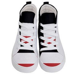 Flag Of Upper Volta Kid s Hi Top Skate Sneakers