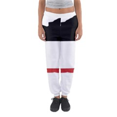 Flag Map Of Upper Volta Women s Jogger Sweatpants