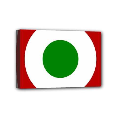 Roundel Of Burundi Air Force  Mini Canvas 6  X 4