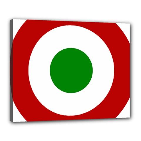 Roundel Of Burundi Air Force  Canvas 20  X 16