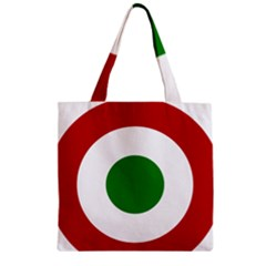 Roundel Of Burundi Air Force  Zipper Grocery Tote Bag by abbeyz71