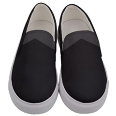 Gray Color Men s Canvas Slip Ons