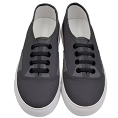 Gray Color Women s Classic Low Top Sneakers