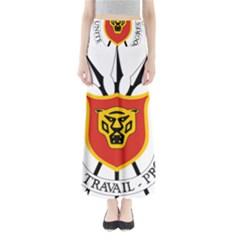 Coat Of Arms Of Burundi Full Length Maxi Skirt