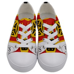 Coat Of Arms Of Burundi Kids  Low Top Canvas Sneakers