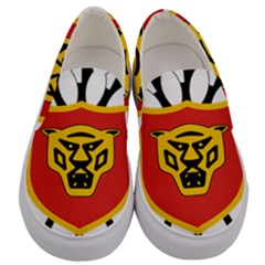 Coat Of Arms Of Burundi Men s Canvas Slip Ons