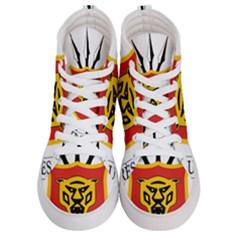Coat Of Arms Of Burundi Women s Hi Top Skate Sneakers
