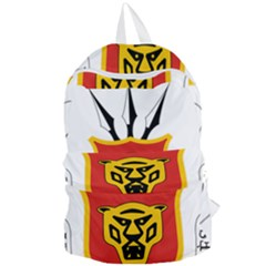 Coat Of Arms Of Burundi Foldable Lightweight Backpack