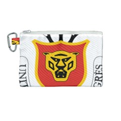 Coat Of Arms Of Burundi Canvas Cosmetic Bag (medium)