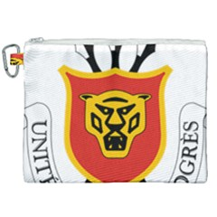 Coat Of Arms Of Burundi Canvas Cosmetic Bag (xxl)