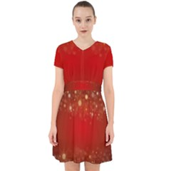 Background Abstract Christmas Adorable In Chiffon Dress