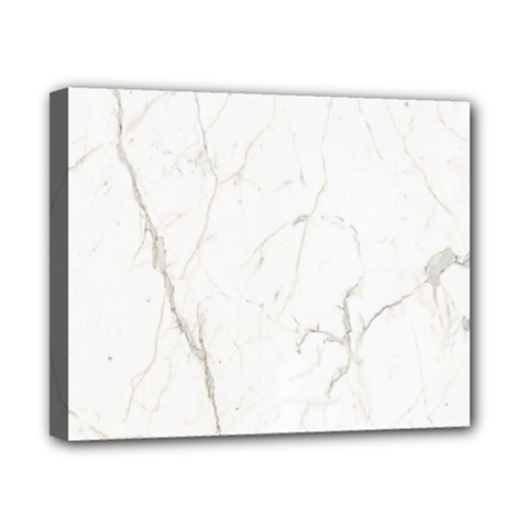 White Marble Tiles Rock Stone Statues Canvas 10  X 8