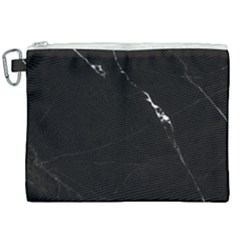 Black Marble Tiles Rock Stone Statues Canvas Cosmetic Bag (xxl) by Simbadda