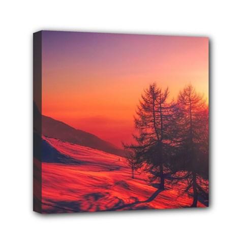 Italy Sunrise Sky Clouds Beautiful Canvas Travel Bag