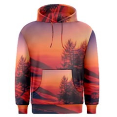 Italy Sunrise Sky Clouds Beautiful Men s Pullover Hoodie