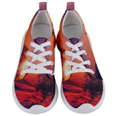 Italy Sunrise Sky Clouds Beautiful Women s Lightweight Sports Shoes
