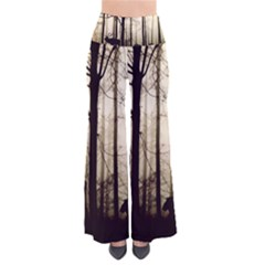 Forest Fog Hirsch Wild Boars So Vintage Palazzo Pants