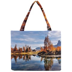 Dolomites Mountains Italy Alpine Mini Tote Bag by Simbadda