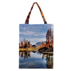 Dolomites Mountains Italy Alpine Classic Tote Bag by Simbadda