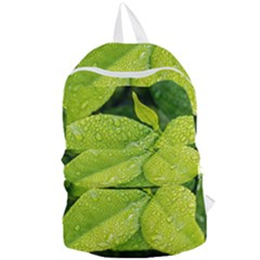 Leaf Green Foliage Green Leaves Foldable Lightweight Backpack by Simbadda