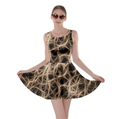 Structure Background Pattern Skater Dress