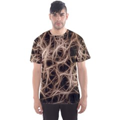 Structure Background Pattern Men s Sports Mesh Tee