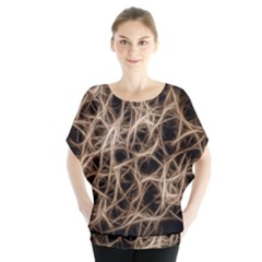 Structure Background Pattern Blouse
