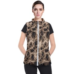 Structure Background Pattern Women s Puffer Vest