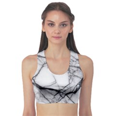 Marble Tiles Rock Stone Statues Sports Bra