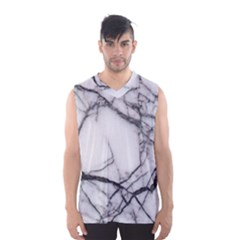 Marble Tiles Rock Stone Statues Men s Basketball Tank Top
