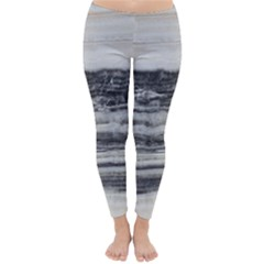 Marble Tiles Rock Stone Statues Pattern Texture Classic Winter Leggings