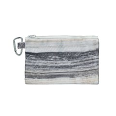 Marble Tiles Rock Stone Statues Pattern Texture Canvas Cosmetic Bag (small)