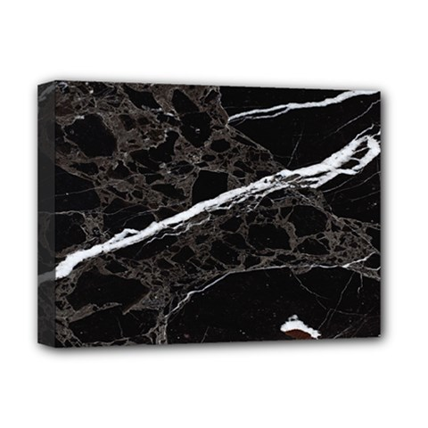 Marble Tiles Rock Stone Statues Deluxe Canvas 16  X 12