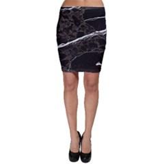 Marble Tiles Rock Stone Statues Bodycon Skirt
