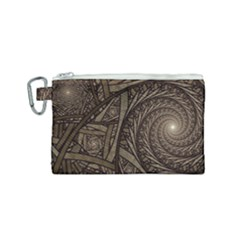 Abstract Pattern Graphics Canvas Cosmetic Bag (small)