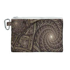 Abstract Pattern Graphics Canvas Cosmetic Bag (large)