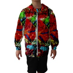 Coffee Land 1 Hooded Wind Breaker (kids)