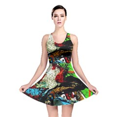 Coffee Land 5 Reversible Skater Dress