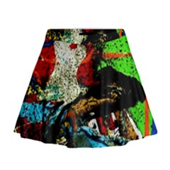 Coffee Land 5 Mini Flare Skirt