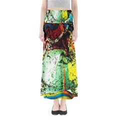 Coffee Land 2 Full Length Maxi Skirt