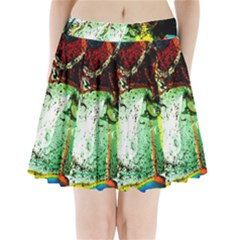 Coffee Land 2 Pleated Mini Skirt