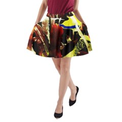 Drama 5 A Line Pocket Skirt