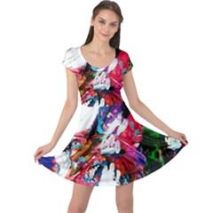 Way Up To Tailand Cap Sleeve Dress