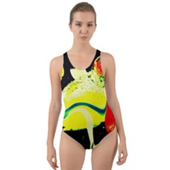 Drama 1 Cut Out Back One Piece Swimsuit