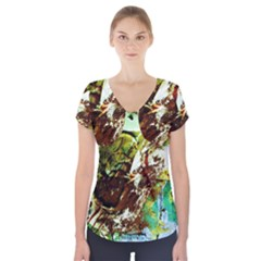 Doves Matchmaking 8 Short Sleeve Front Detail Top