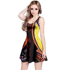 Cryptography Of The Planet Reversible Sleeveless Dress