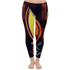 Cryptography Of The Planet Classic Winter Leggings
